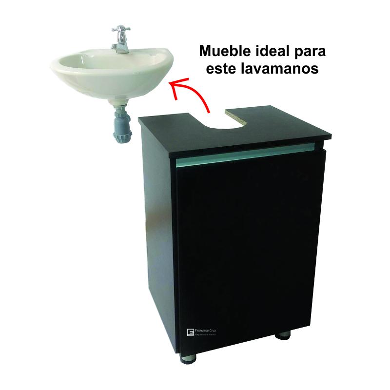 lavamanos con mueble