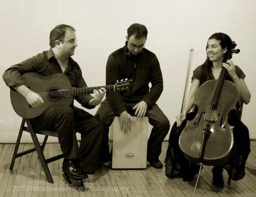 Compasion, avec Jean-Philippe Parent et Laurence Leclerc. (Luma R. Brieuc)