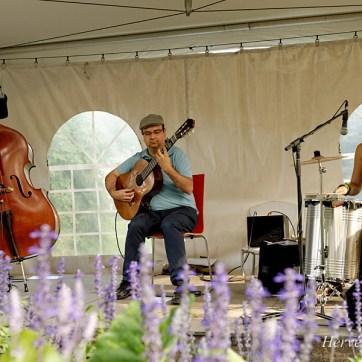 Trio Francis Leclerc, Jardins Botaniques de Montréal, 2014.
