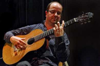 Francis Leclerc, guitariste