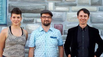 Trio Francis Leclerc - Marise Demers et Jérémie Jones. Zones musicales de Laval 2017.