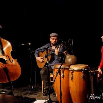 Bistro Le St-Cath, 2016. Trio Francis Leclerc.