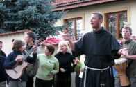Franciszkańska grupa brązowa
