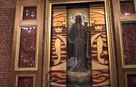 Gdynia: obraz Matki Bożej i fanfary