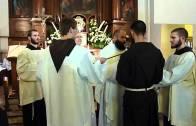 Pierwsze śluby u kapucynów 2010 – Reguła