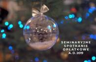 Spotkanie opłatkowe w seminarium