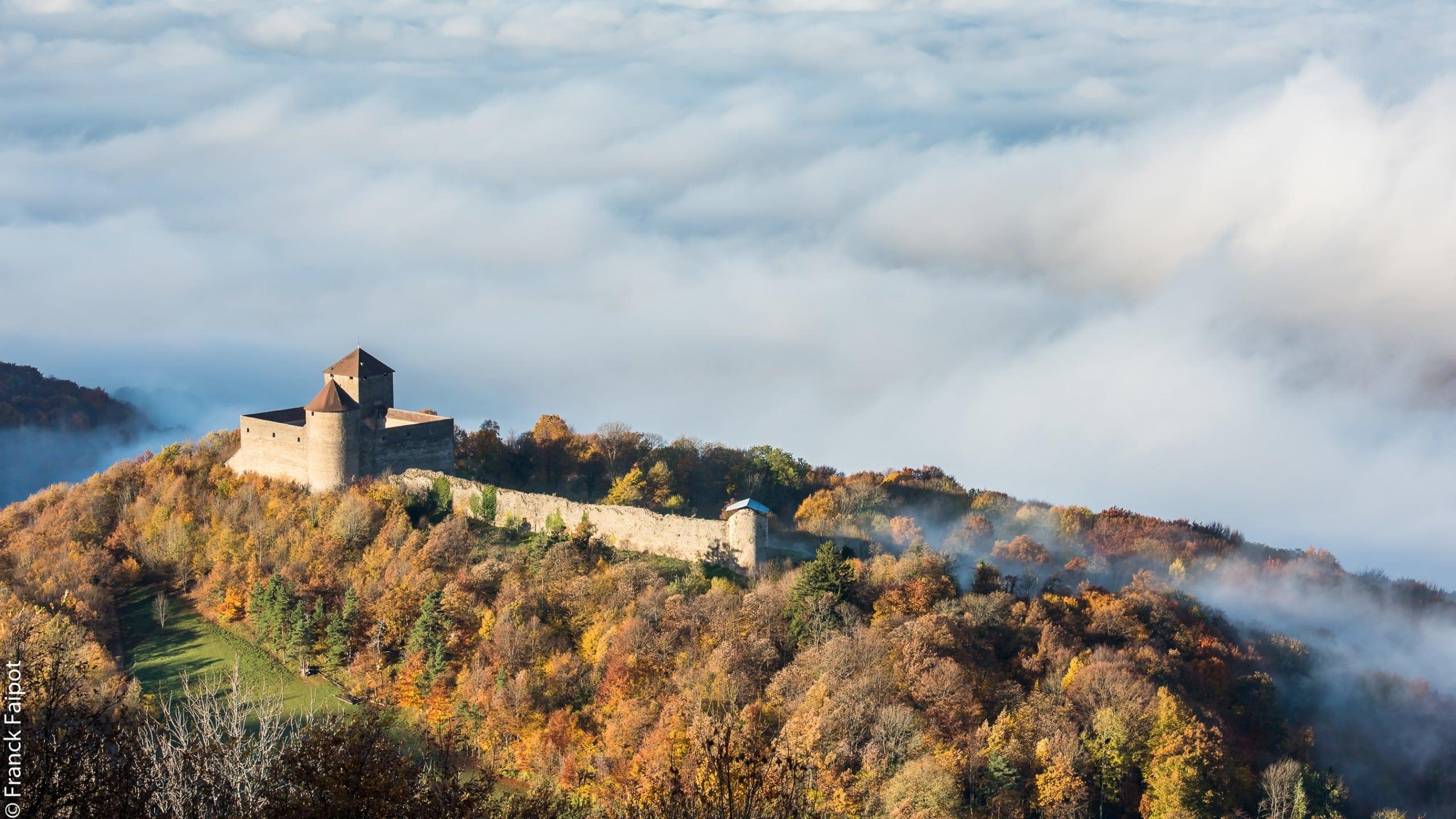 château des allymes PHOTO DRONE
