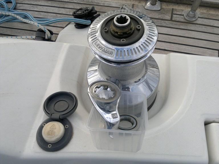 nettoyage winch