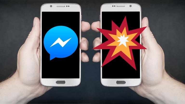 Facebook Messenger supprimer message application