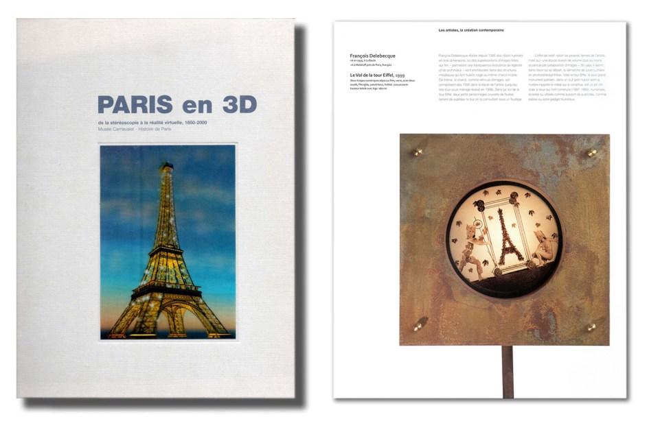François Delebecque, Paris en 3D, 2000