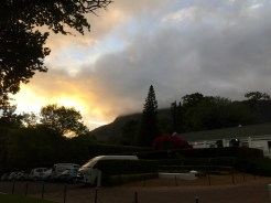 Sunset at the Cellars