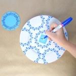 Hand Painted Blue White Plates Housebeautiful Com Feature Francois Et Moi