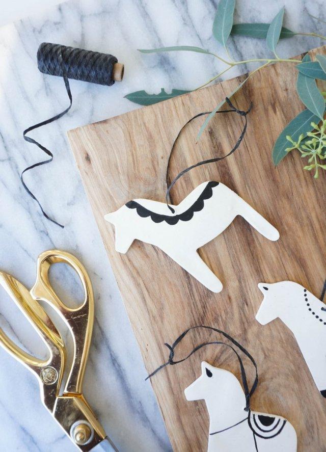 Dala Horse Ornaments | Francois et Moi