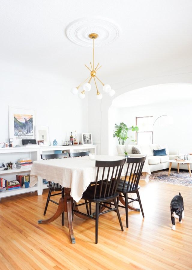 Before & After: Living & Dining Room Renovation | Francois et Moi