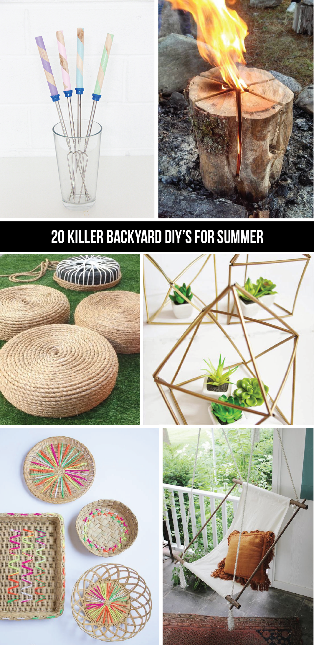 20 must try DIY backyard projects to make the most of summer!