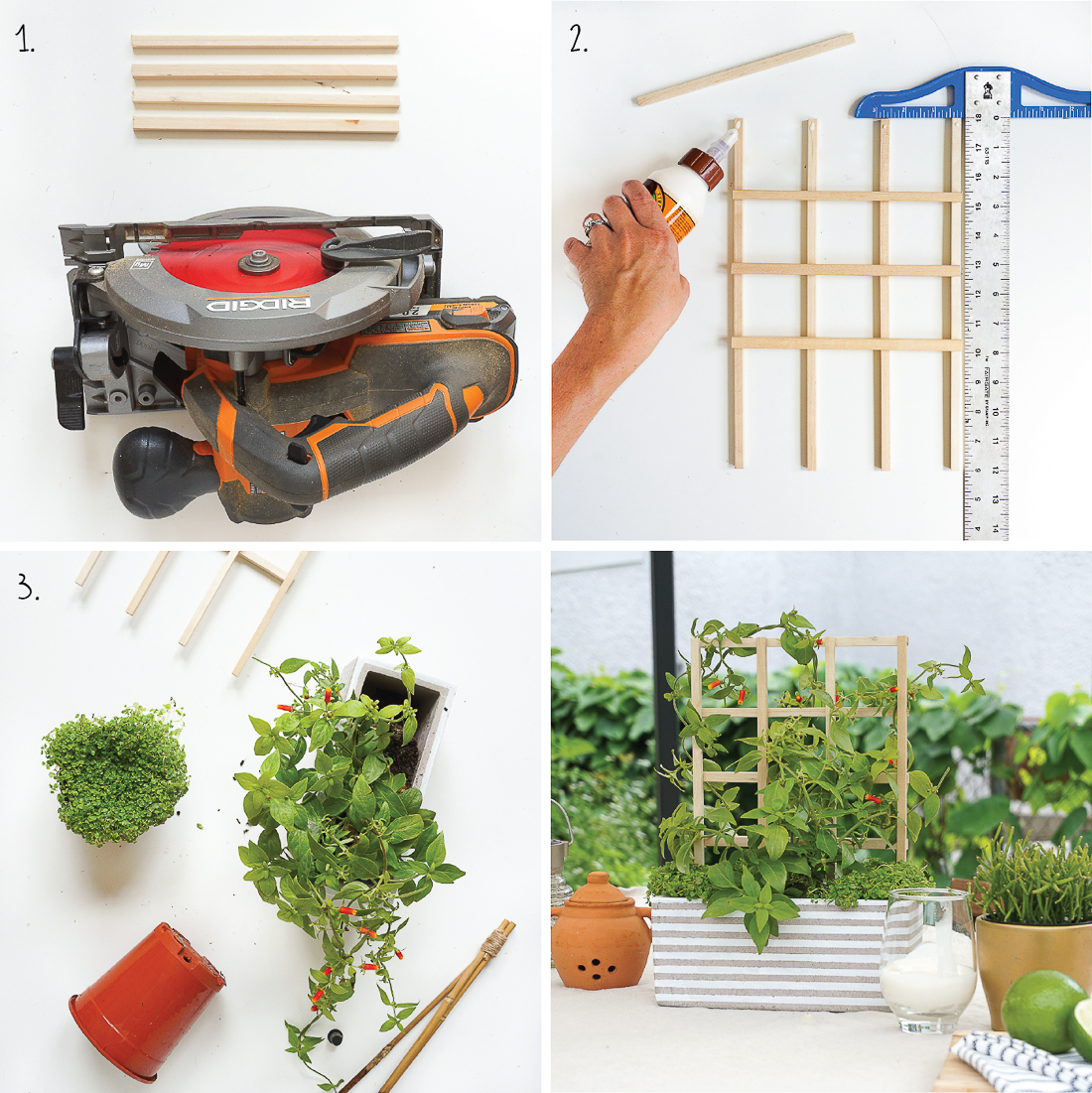 Want to create an al fresco retreat in your backyard? Check out 3 easy ways to add style with simple craft store supplies.