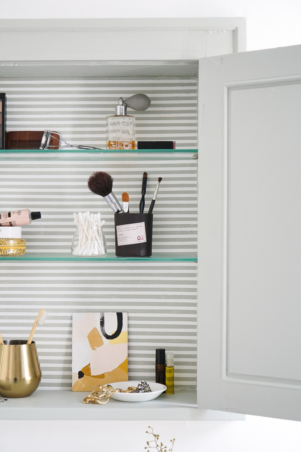A Medicine Cabinet Makeover: Refresh the spot in your home where you begin and end each day.