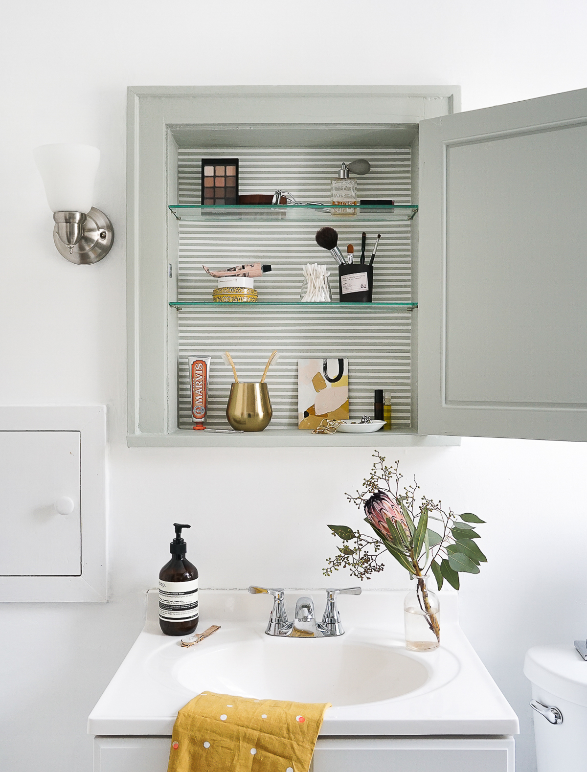 A Medicine Cabinet Makeover: Refresh The Spot In Your Home Where You Begin  And End