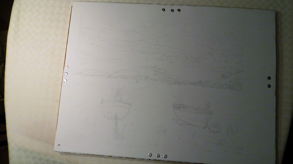 aquarelle, dessin