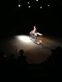 Stéphane Guertin présente son conte au Théâtre de Nice