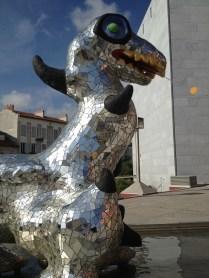 sculpture de Niki de Saint Phalle