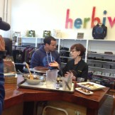 TV Filming at Herbivore Clothing in Portland, OR
