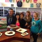 At Herbivore Clothing with Christy Morgan and Michelle Schweggman