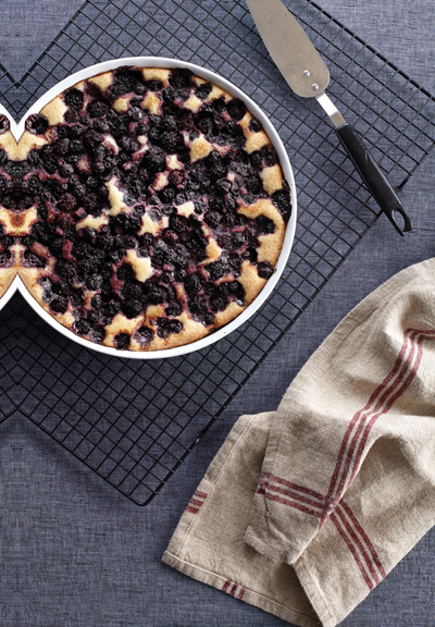 Julie Hasson's Bumbleberry Cobbler