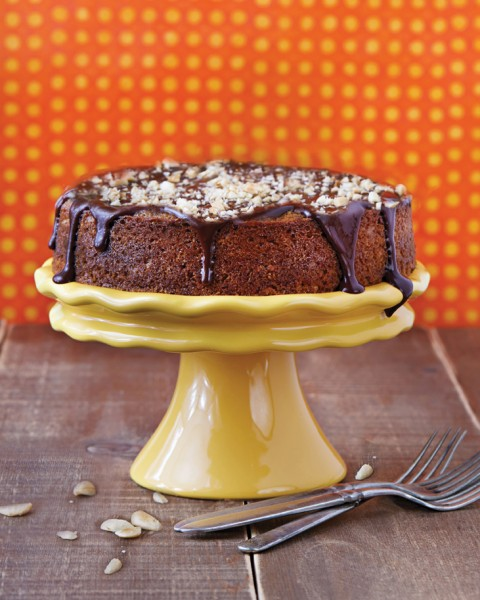 Virtual Vegan Potluck: Chocolate, Orange, and Almond Olive Oil Cake
