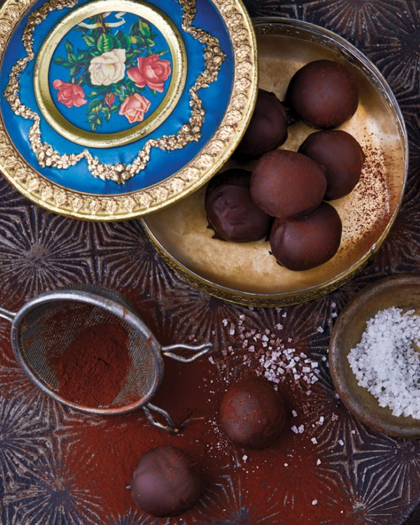 Fran Costigan's Spicy Ginger Truffles