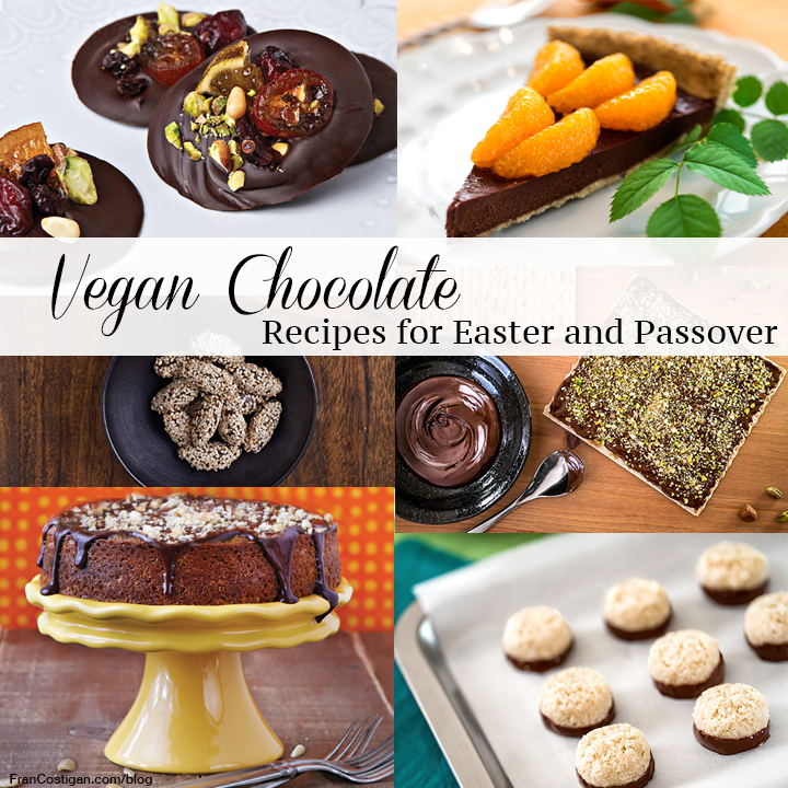 Vegan chocolate recipes for Easter and Passover