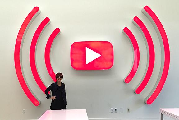Fran at YouTube Google