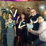 At Vida Vegan Con with Demetrius Bagley, Ellen Kanner, Miyoko Shinner, and The Food Duo