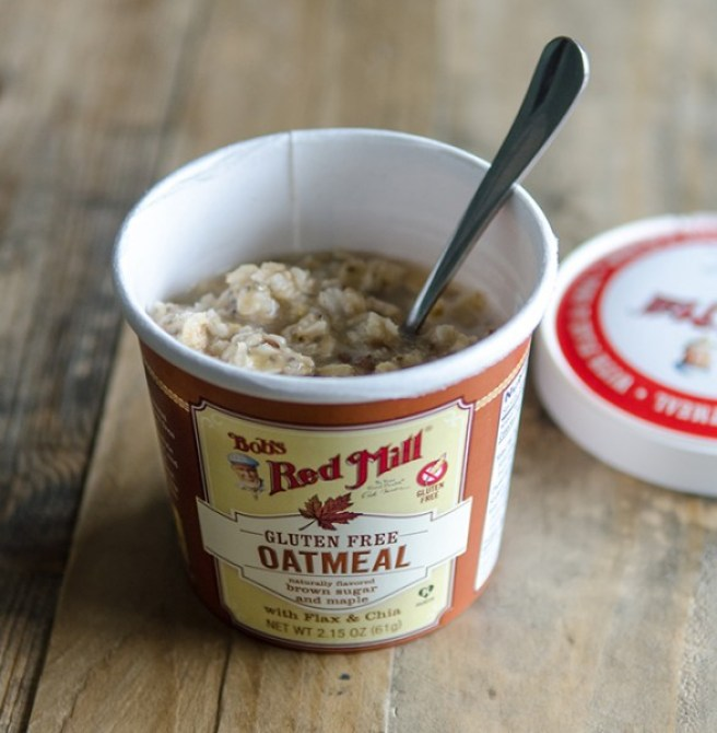 Maple and Brown Sugar Bob's Red Mill Oatmeal Cups