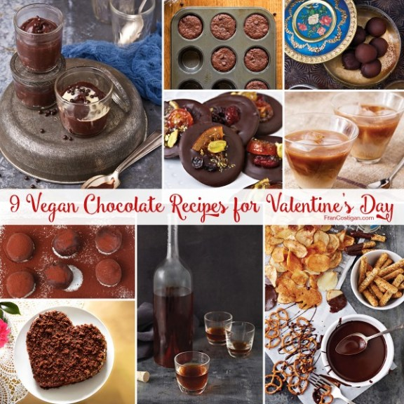 9 Vegan Chocolate Recipes for Valentine's Day
