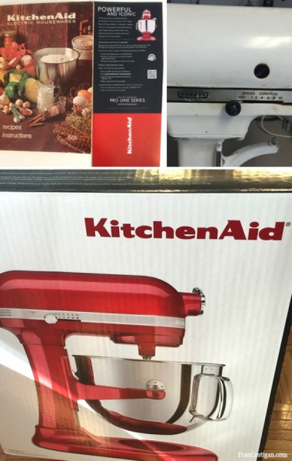 Kitchen Aid Then and Now