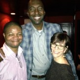 With Demetrius Bagley and John Salley