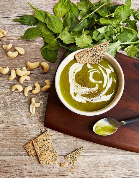 Velvety Kale Soup