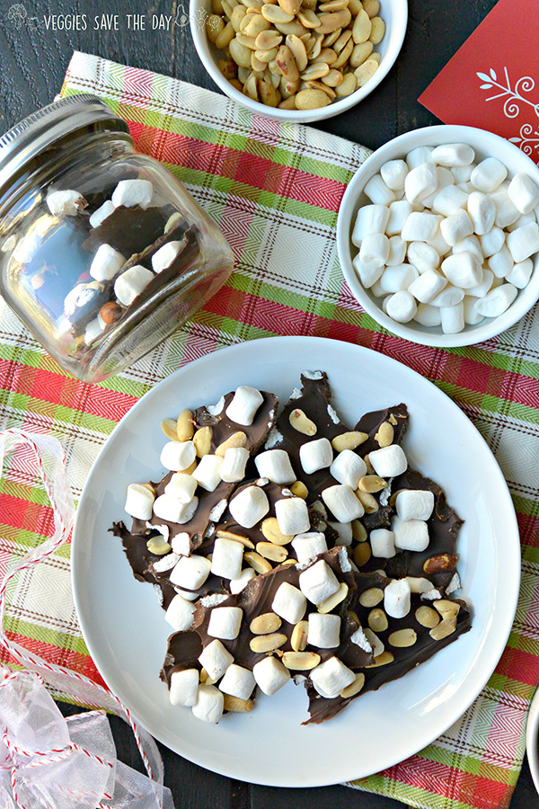 Veggies Save the Day's Rocky Road Bark