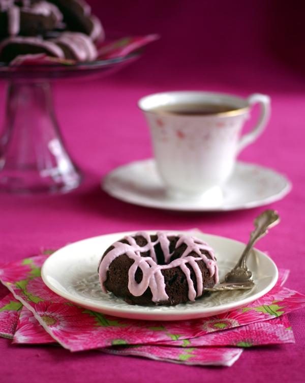 Ricki Heller's Chocolate Potato Cake Donuts
