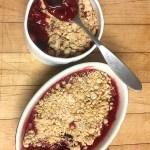 Fran Costigan's Raspberry Gluten-Free Vegan Streusel