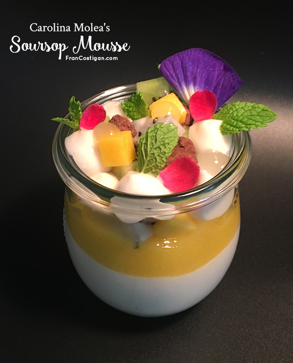 Carolina Molea's Soursop Mousse