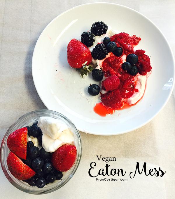Vegan Eaton Mess