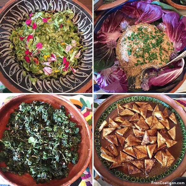 Food at Rancho La Puerta