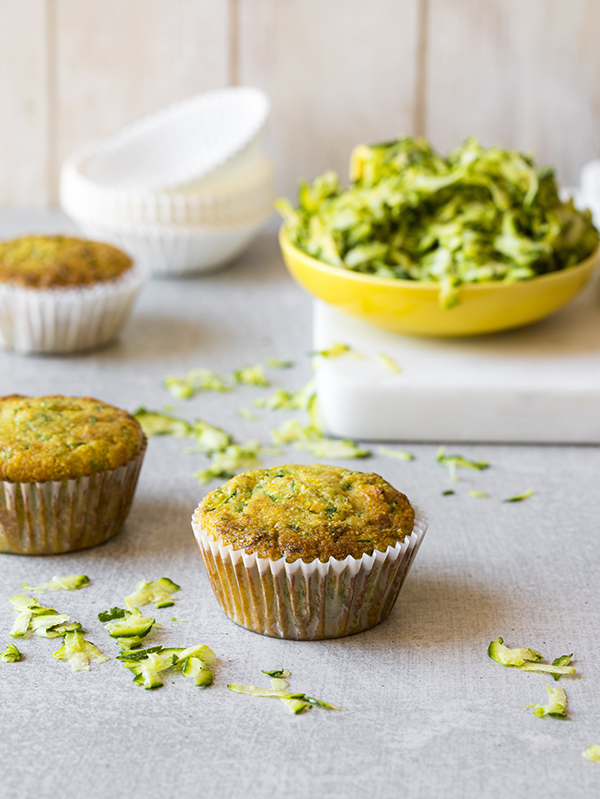 Zucchini Cornbread Muffins from The Simply Vegan Cookbook by Dustin Harder