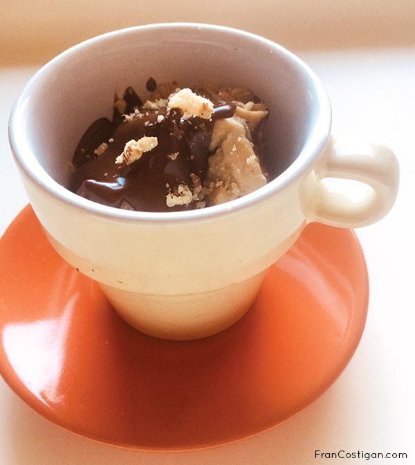 Easy 3-Ingredient Vegan Peanut Butter Mousse Cups