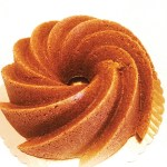 Fran Costinga's vegan Orange Almond Bundt Cake (dairy-free)