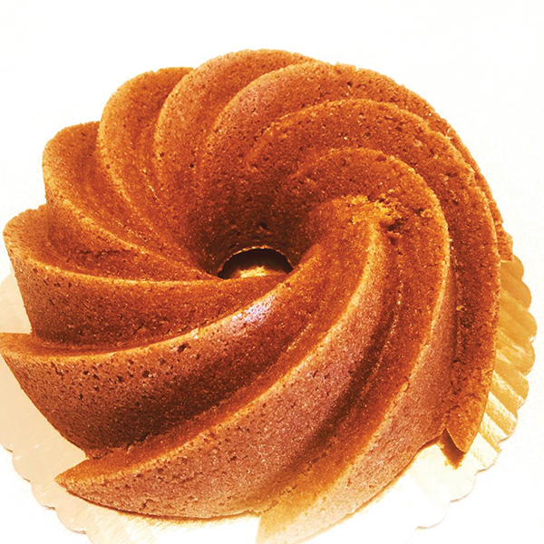 Big Orange Bundt Cake