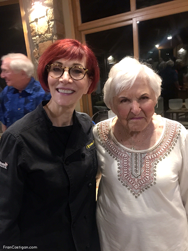 Fran with Rancho La Puerta Co-founder Deborah