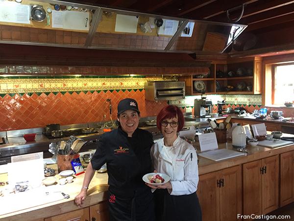 Rancho La Puerta Exective Chef Denise Roa